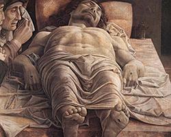 Il Cristo morto - Andrea Mantegna