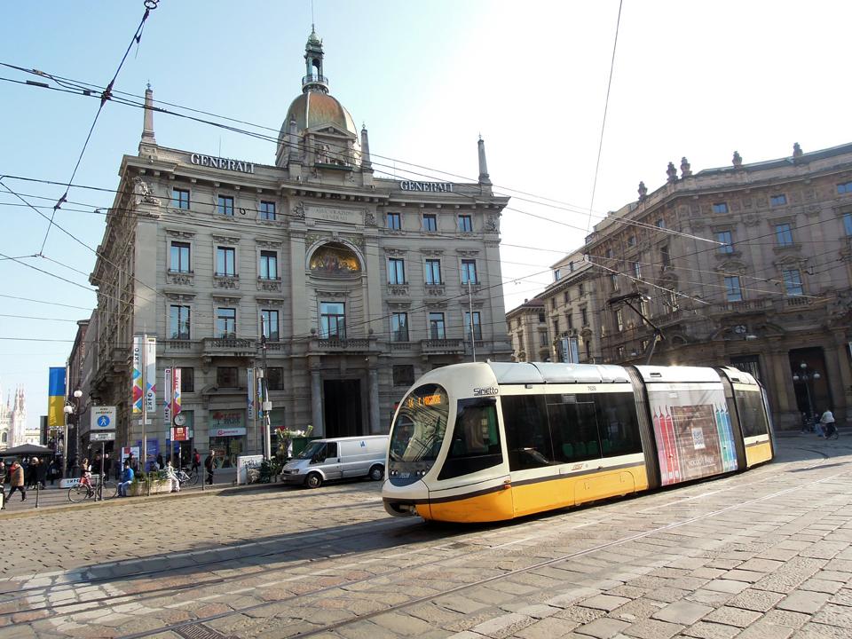 Piazza Cordusio, il palazzo delle Generali
