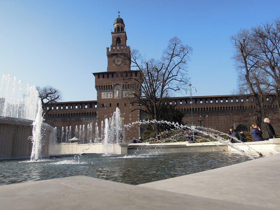 Il castello Sforzesco