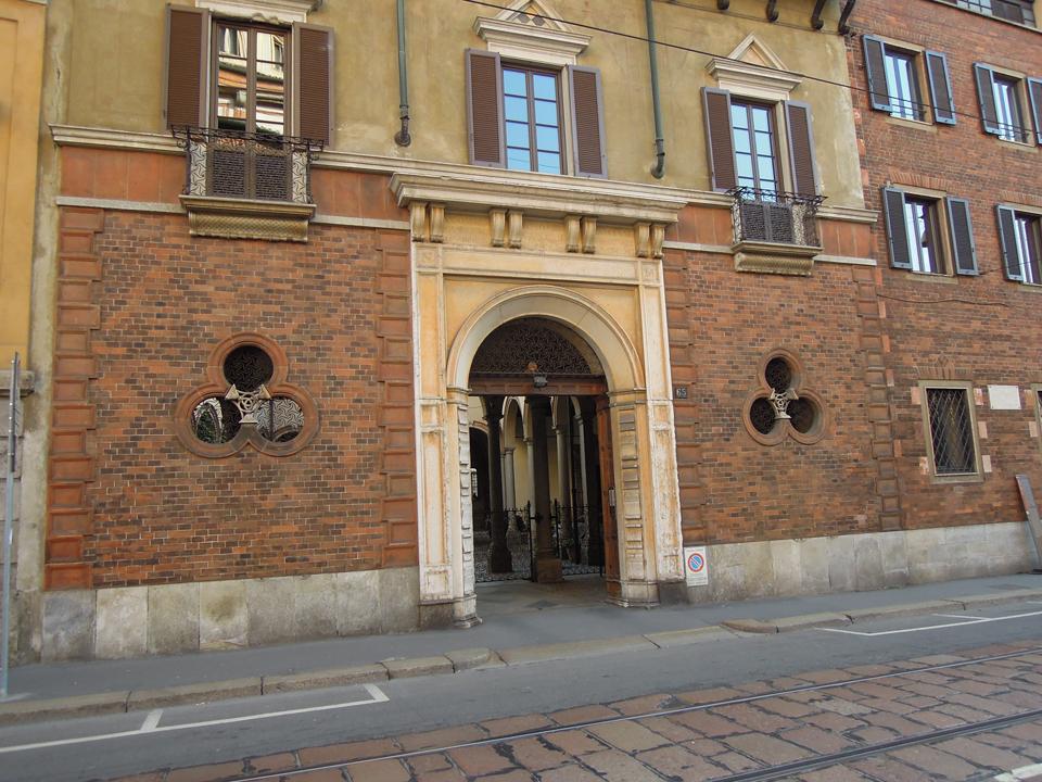 Corso Magenta, la casa degli Atellani