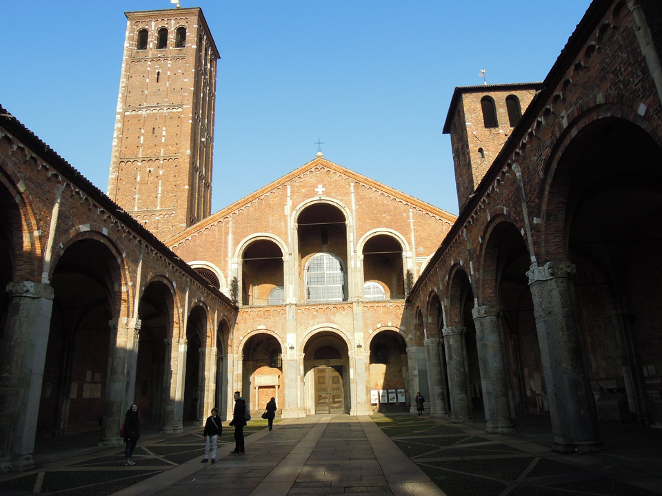 La basilica di Sant'Ambrogio