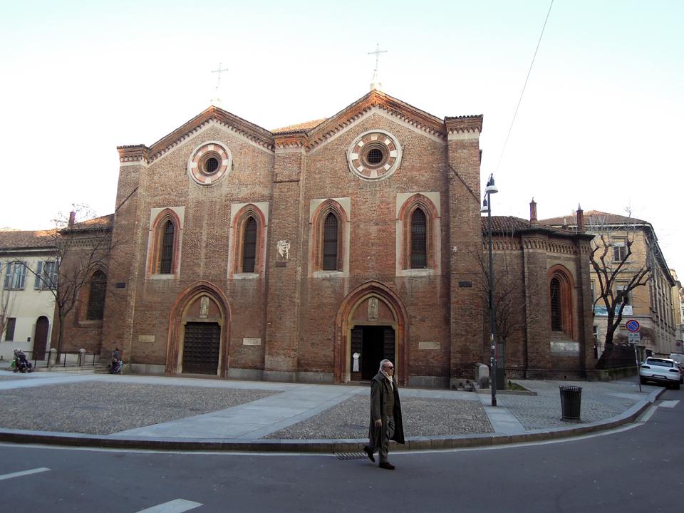 La chiesa di Santa Maria Incoronata