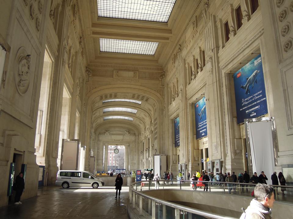 La galleria delle carrozze - Stazione Centrale