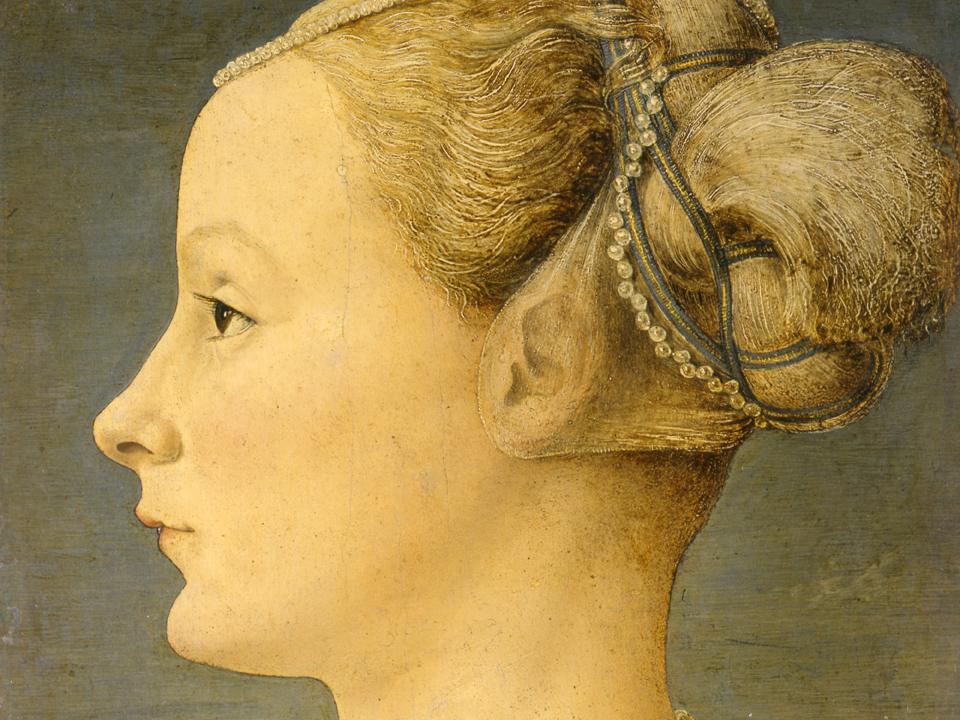 La dama del Pollaiolo - Museo Poldi Pezzoli