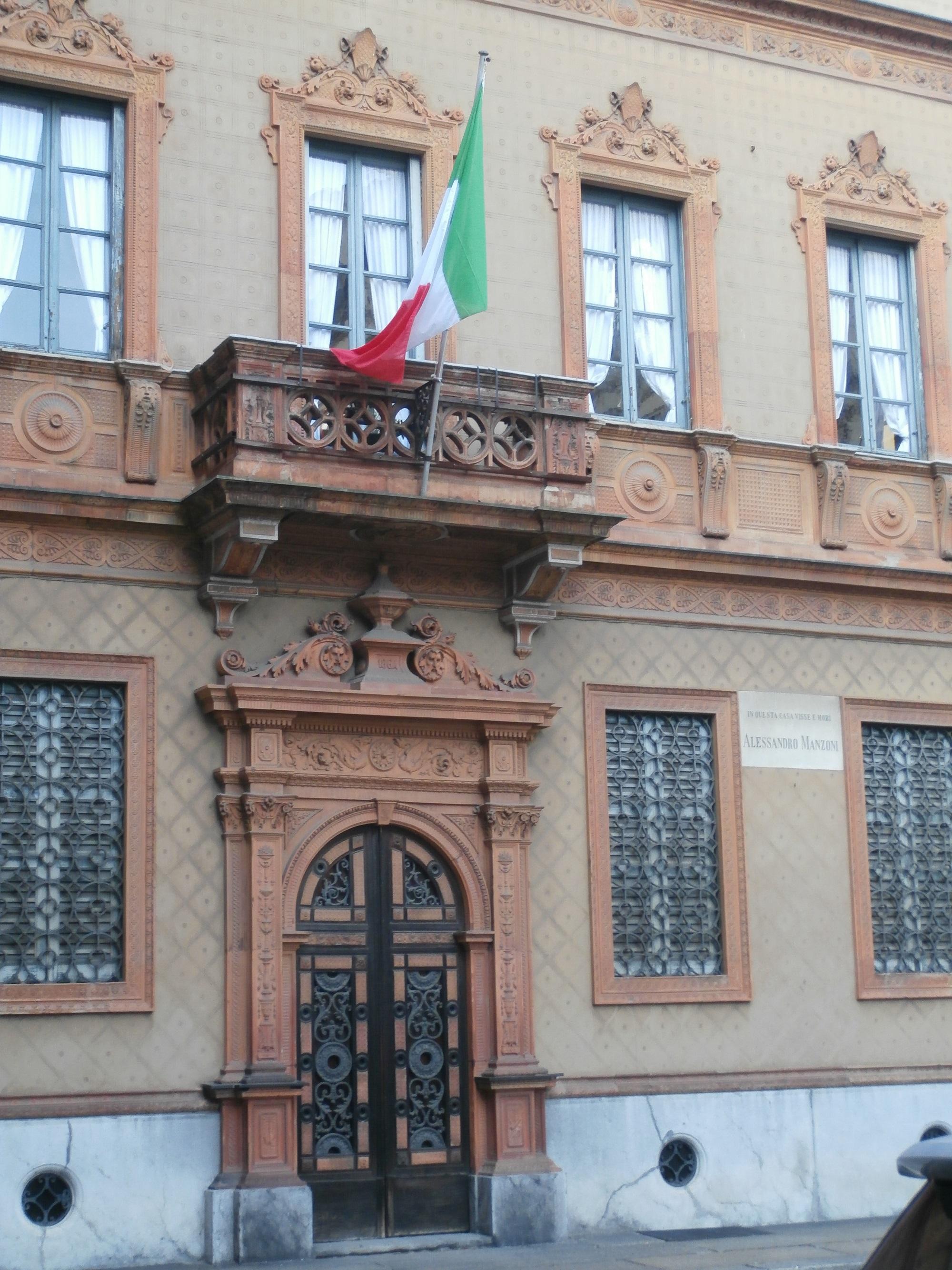 Casa del Manzoni, ingresso