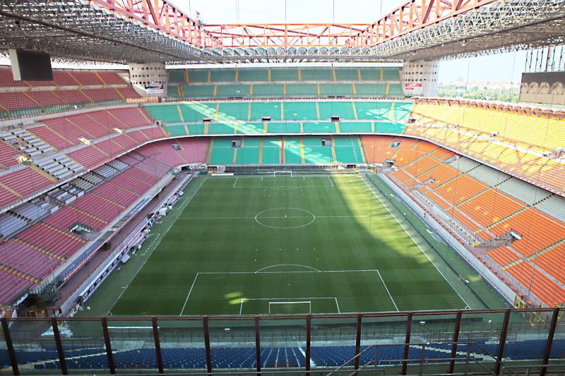 stadio, interno