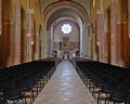 Abbazia di Viboldone - la navata centrale