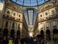 L'interno della Galleria Vittorio Emanuele