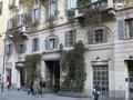 La sede della Galleria Sozzani