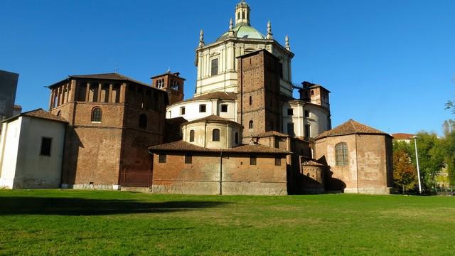 Basilica di San Lorenzo - Parco delle due basiliche