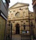 L'esterno della chiesa di Santa Maria presso San Satiro