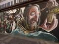 Murales di via San Pio IV - Leonardo da Vinci