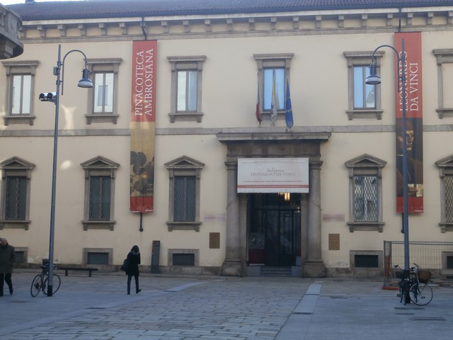 Biblioteca Pinacoteca Ambrosiana: veduta esterna