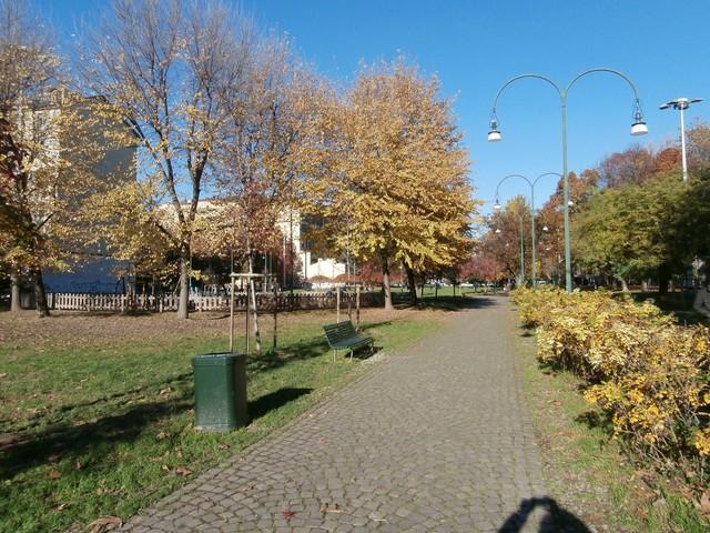 Parco delle Basiliche veduta