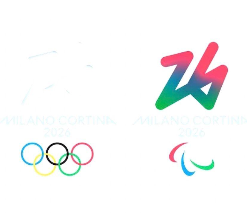 Olimpiadi Milano Cortina 2026 e quel logo che in tanti non possono vedere